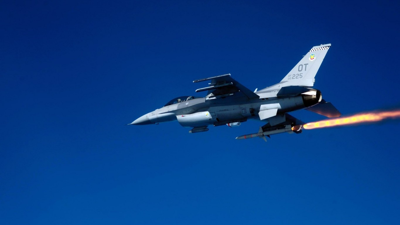 Military  Missiles  F-16 Falcon
